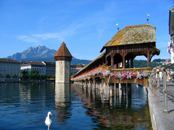 Швейцария  Пешеходный тур По Суворовским местам